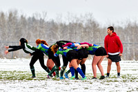 Rugby in the Snow!